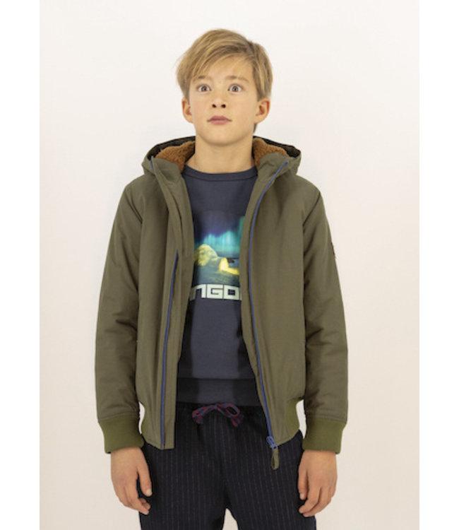 Ao76 kaki groene jas