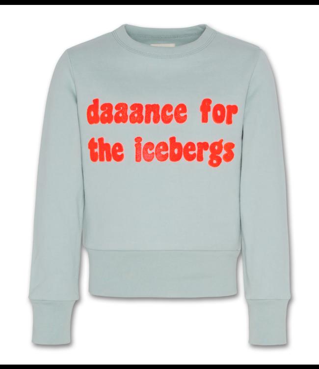 Ao76 blauwe sweater