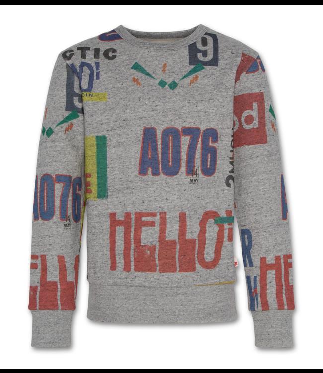 Ao76 geprinte sweater