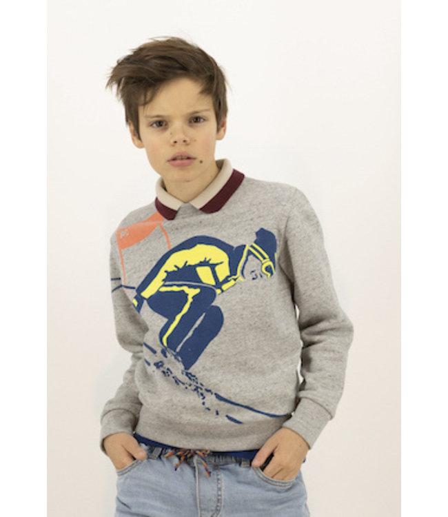 Ao76 grijze sweater
