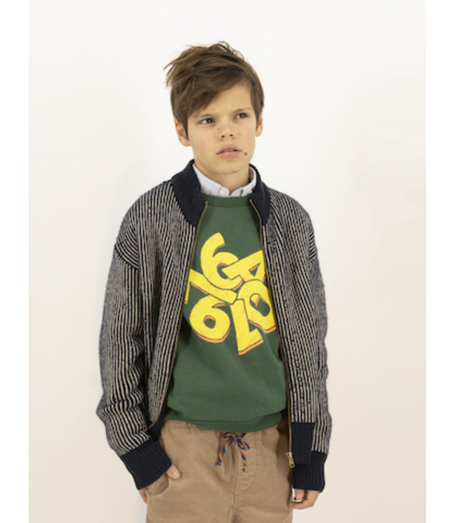 Ao76 groene sweater