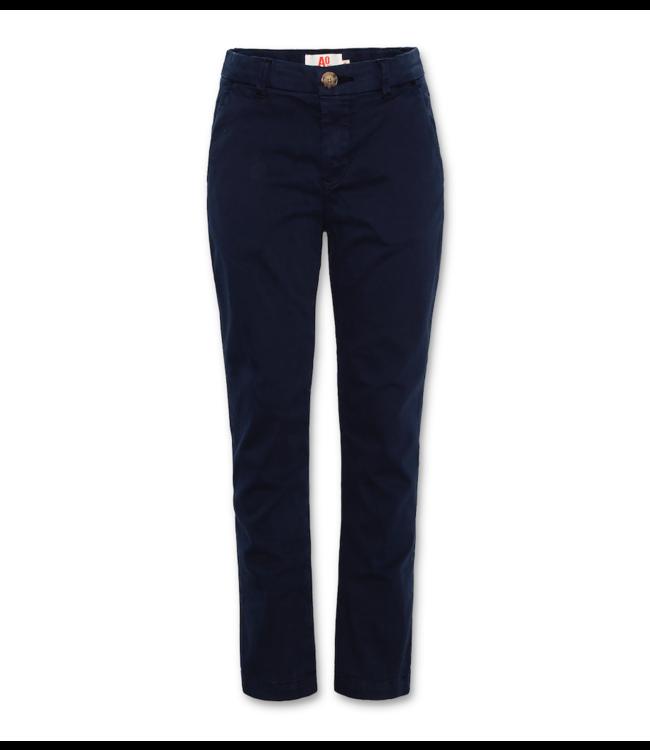 Ao76 blauwe lange broek