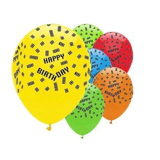 Lego blokken ballonnen