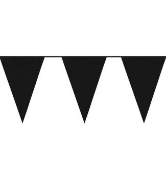 Amscan  Vlaggetjes Zwart jumbo
