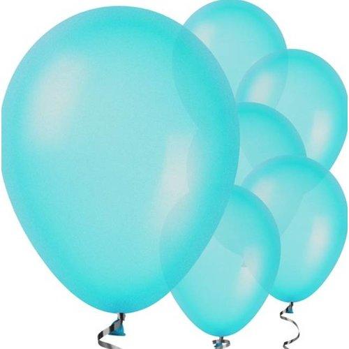 Pastel blauw ballonnen