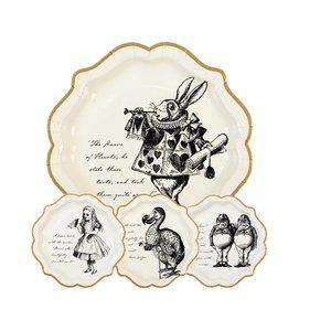 Talking Tables  Alice in wonderland borden creme