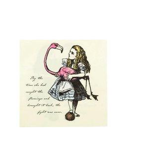 Talking Tables  Alice in wonderland servetten