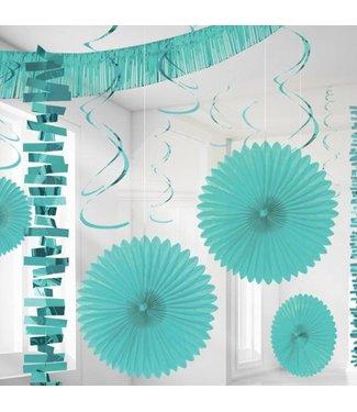 Amscan  Pastel Turquoise versiering set