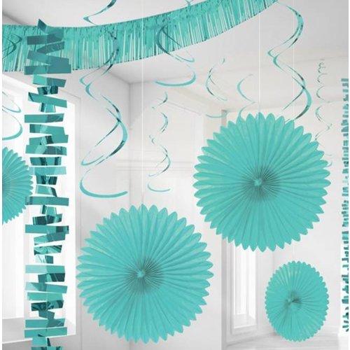 Pastel Turquoise versiering set