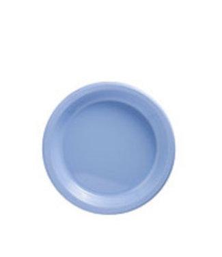 Amscan  Licht blauwe gebaksbordjes XL