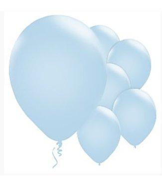 Amscan  Licht blauwe ballonnen