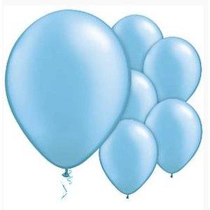 Azure licht blauwe ballonnen