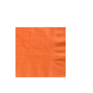 Oranje servetten XL