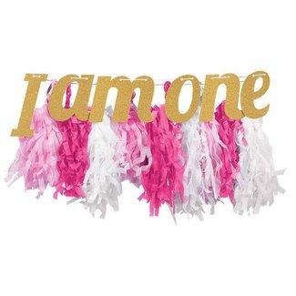 I AM ONE slinger pastel roze