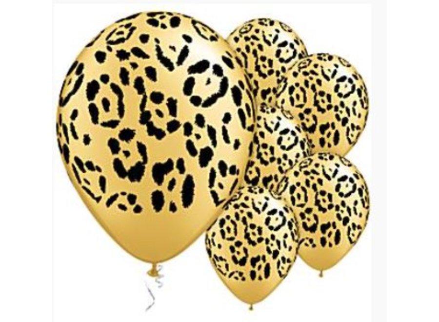 Luipaard print ballonnen