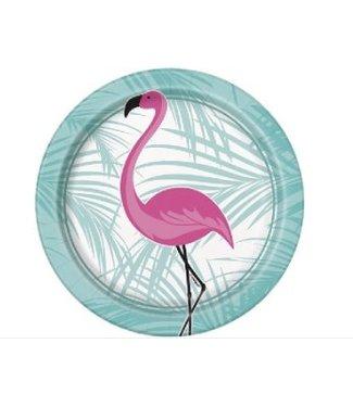 Flamingo borden pastel
