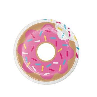Donut gebaksbordjes