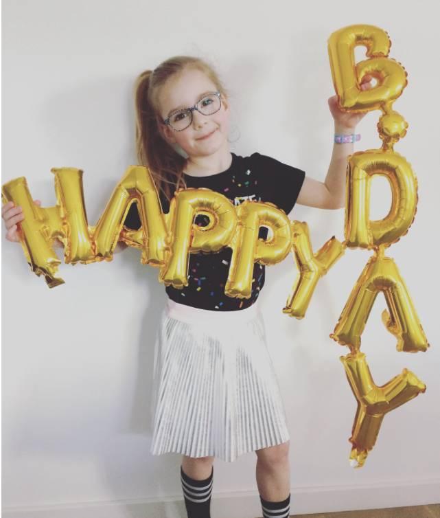 Hoera Pastel feestje voor Isabelle