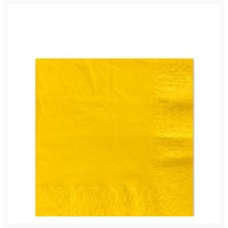 Gele servetten S