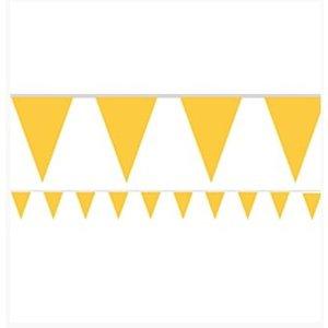 Gele vlaggetjes