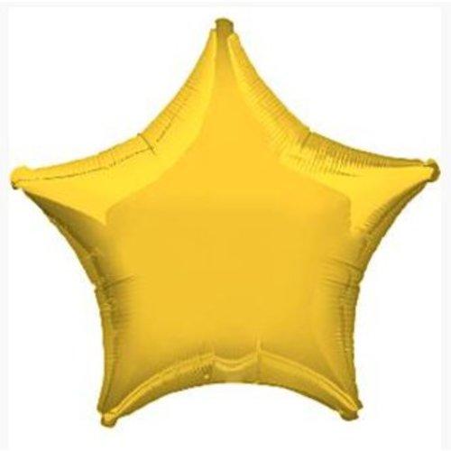 Gele ster ballon