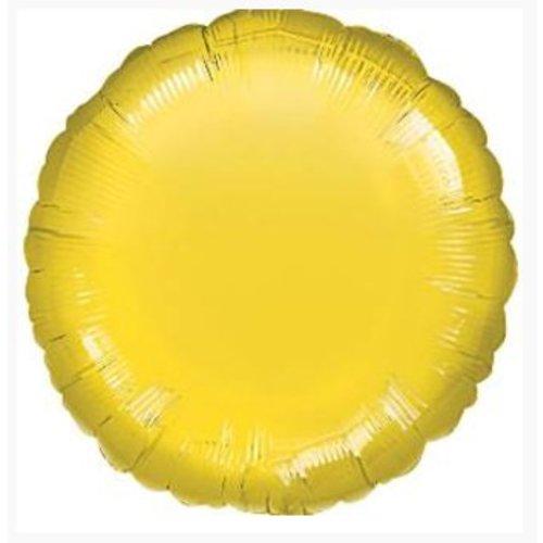 Gele ronde ballon