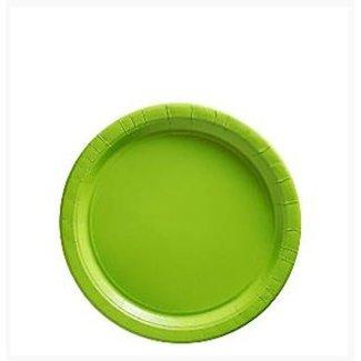 Lime groen gebaksbordjes