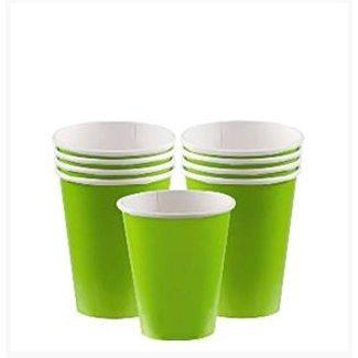 Lime groen koffie bekers