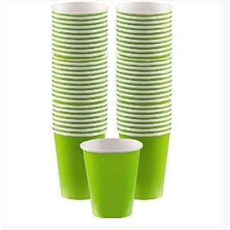 Lime groen koffie bekers L