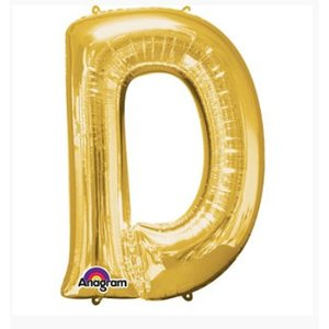 Letter ballon goud XL