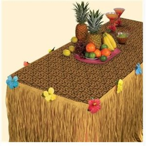 Luau tafel set