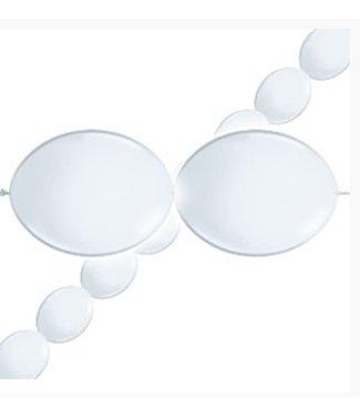 Ballonnen slinger wit