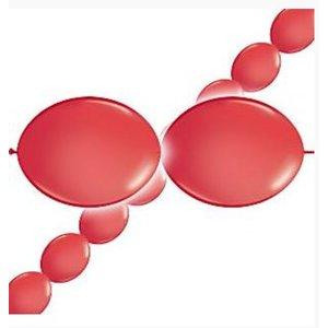 Ballonnen slinger rood