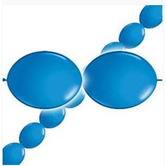 Ballonnen slinger blauw