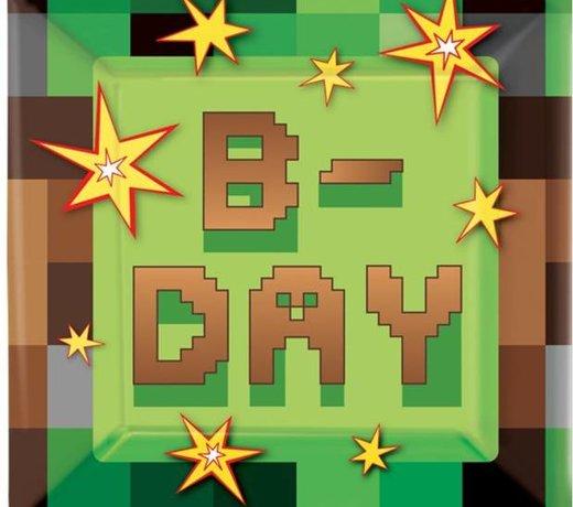 Minecraft feestartikelen en versiering