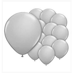 Ballonnen grijs mini