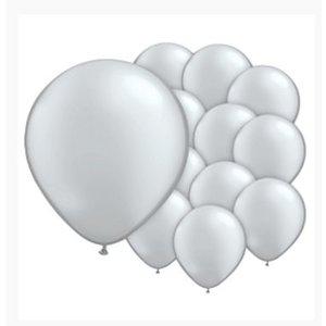 Ballonnen zilver mini