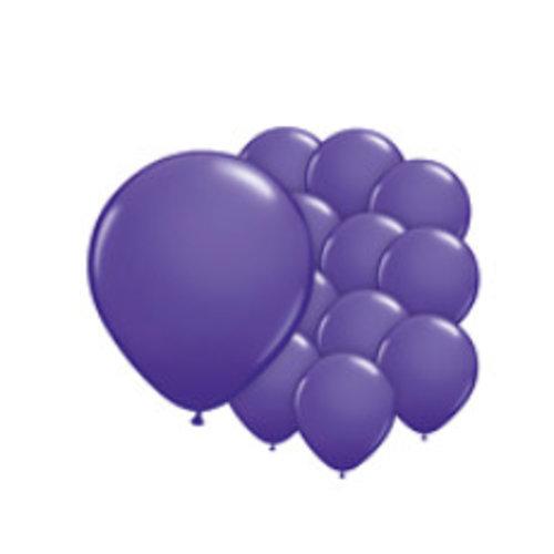 Ballonnen paars mini