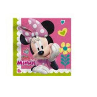 Minnie mouse servetten