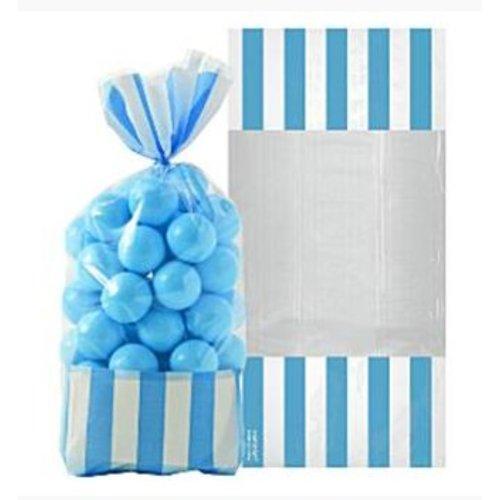 Candy buffet snoepzakjes blauw