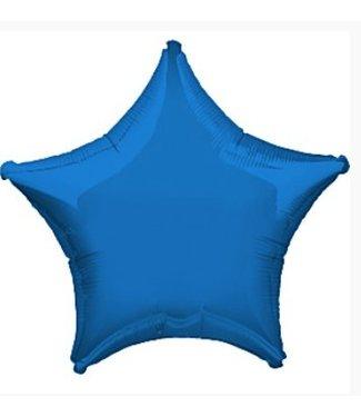 Amscan  Blauwe ster ballon