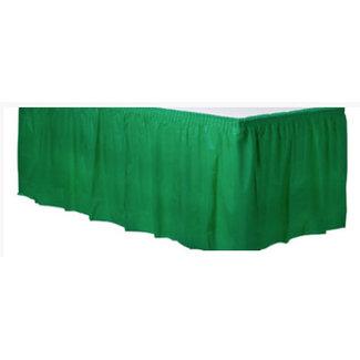 Groene tafelrok