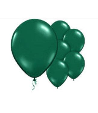 Donker groene ballonnen L