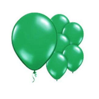 Groene ballonnen L