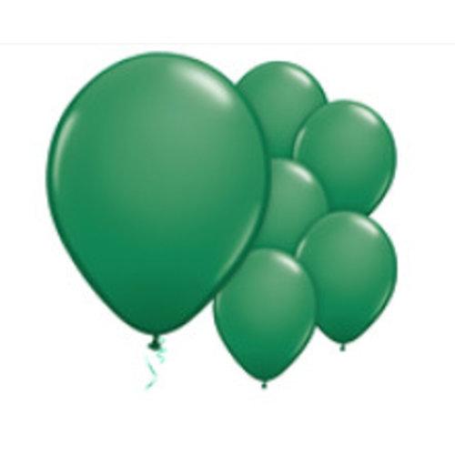 Donker groene ballonnen M