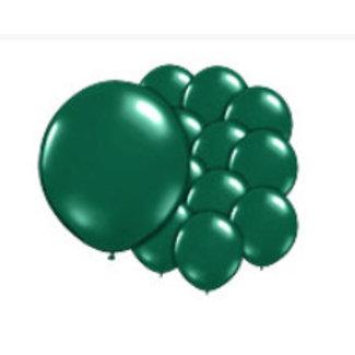 Donker groene ballonnen Shine XL