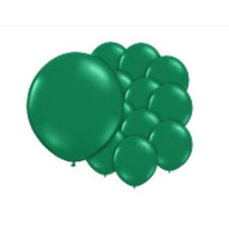 Groene ballonnen shine XL