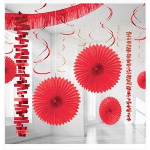Rood versiering set