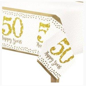 50 jaar jubileum tafelkleed