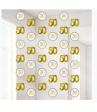 50 jaar huwelijk slingers